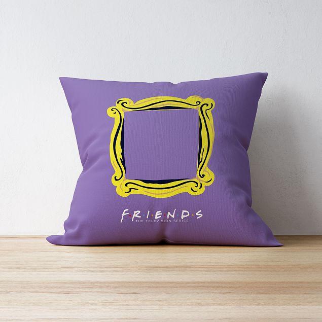Friends™ Peephole Personalised Cushion