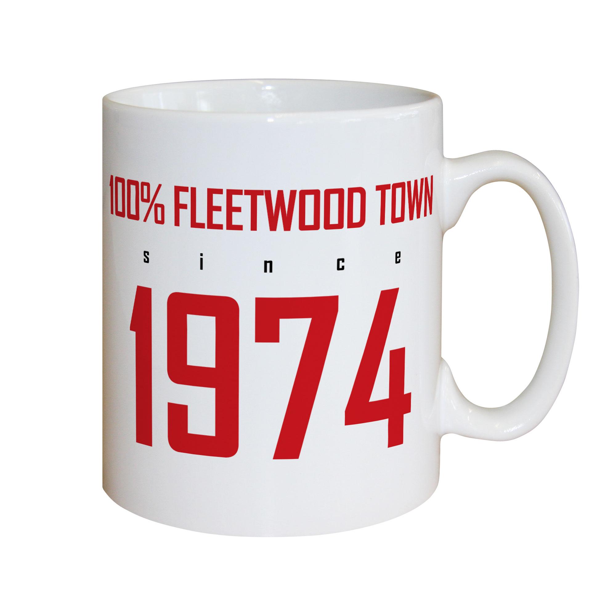 Fleetwood Town FC 100 Percent Mug
