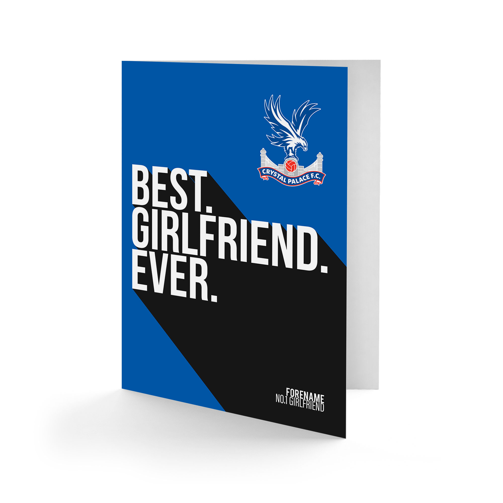 Crystal Palace FC Best Girlfriend Ever Card