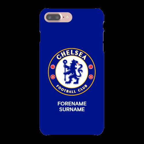 Chelsea FC Bold Crest iPhone 7 Plus Phone Case