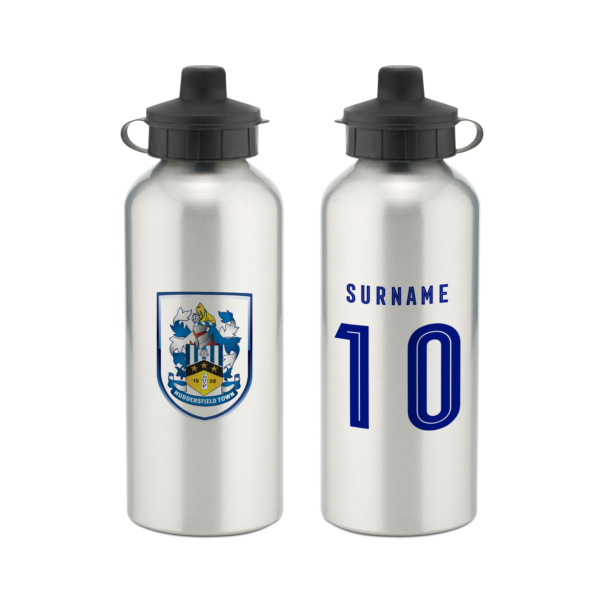 Huddersfield Town Retro Shirt Water Bottle