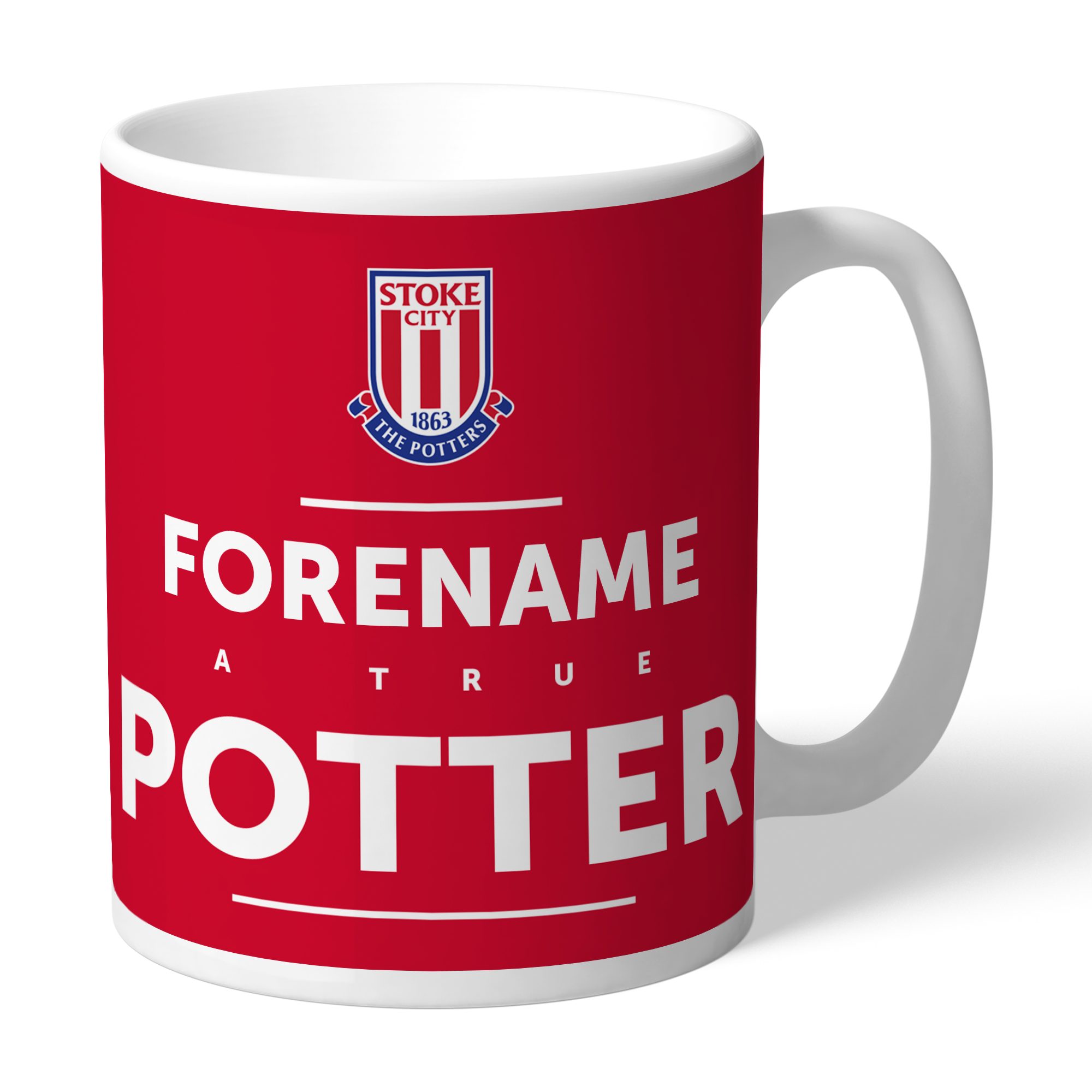 Stoke City FC True Mug