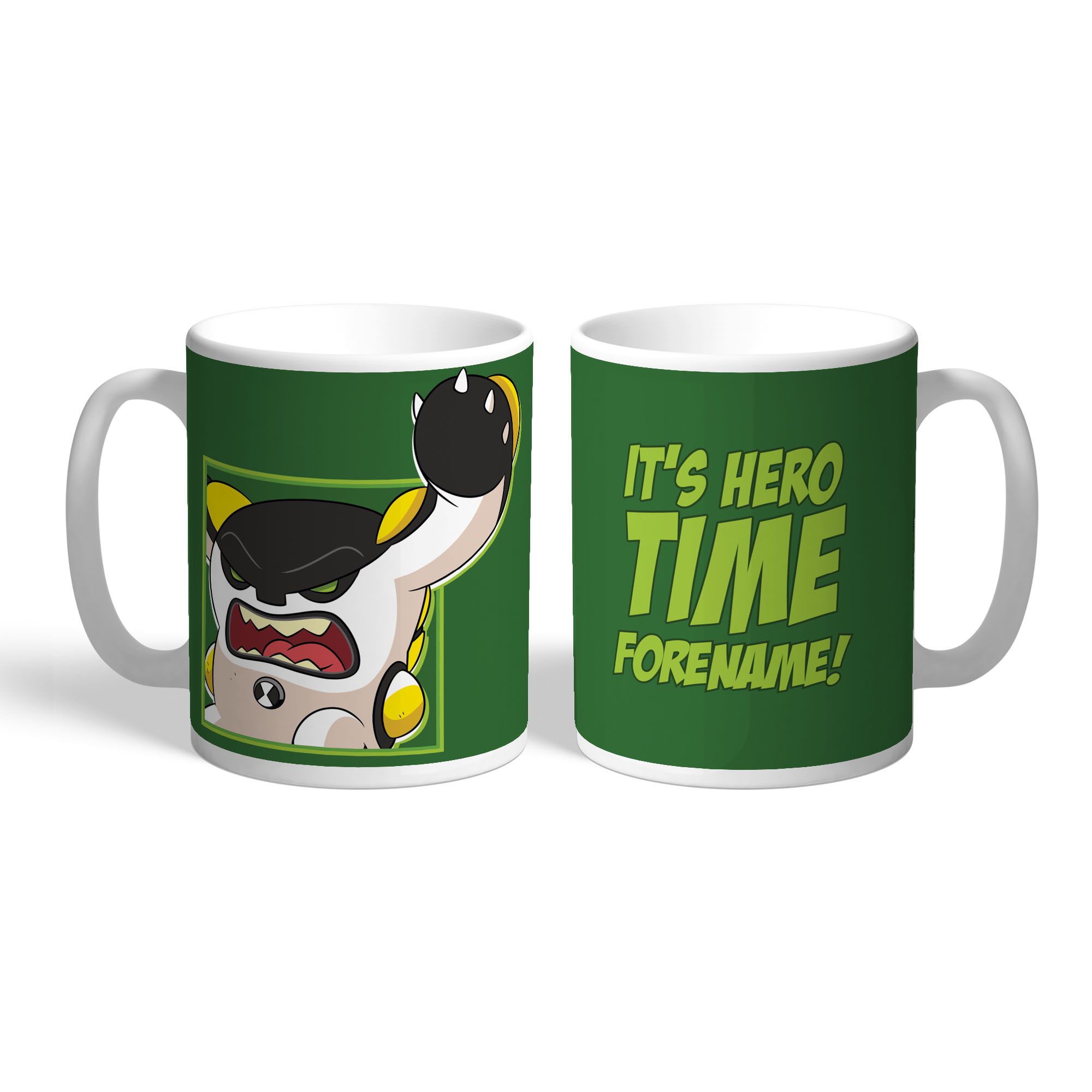 Ben 10 Cannonbolt Hero Time Mug