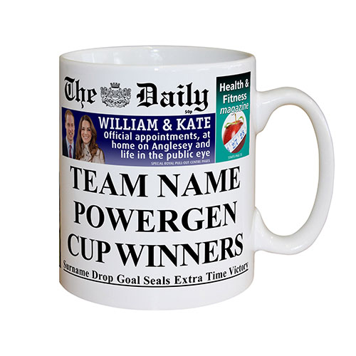 The Daily Rugby Union Mug