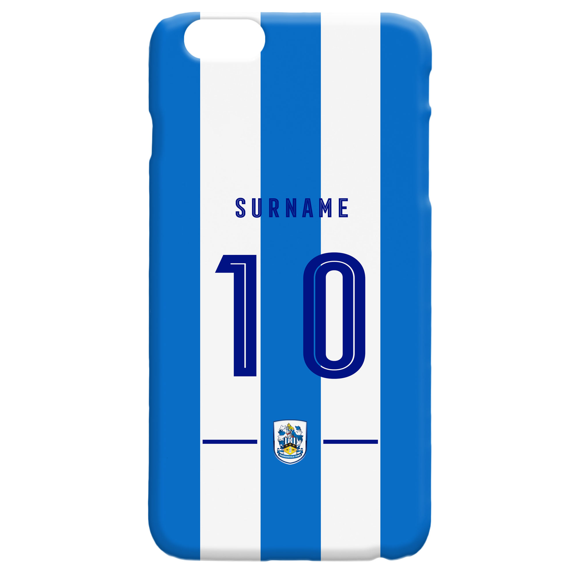Huddersfield Town Retro Shirt Hard Back Phone Case