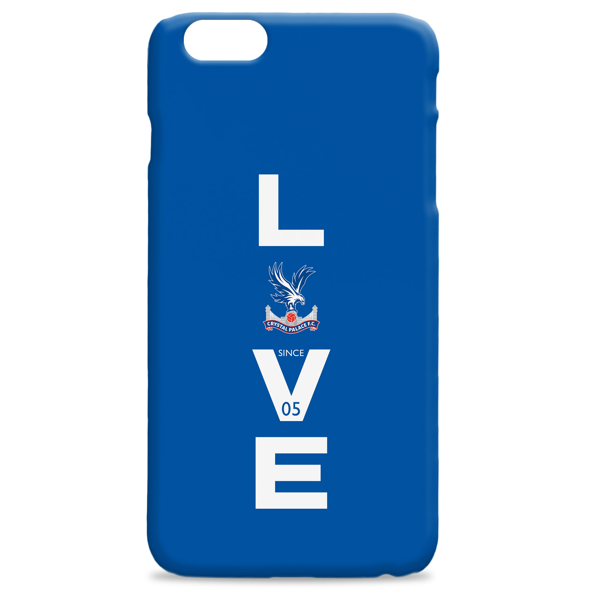 Crystal Palace FC Love Hard Back Phone Case