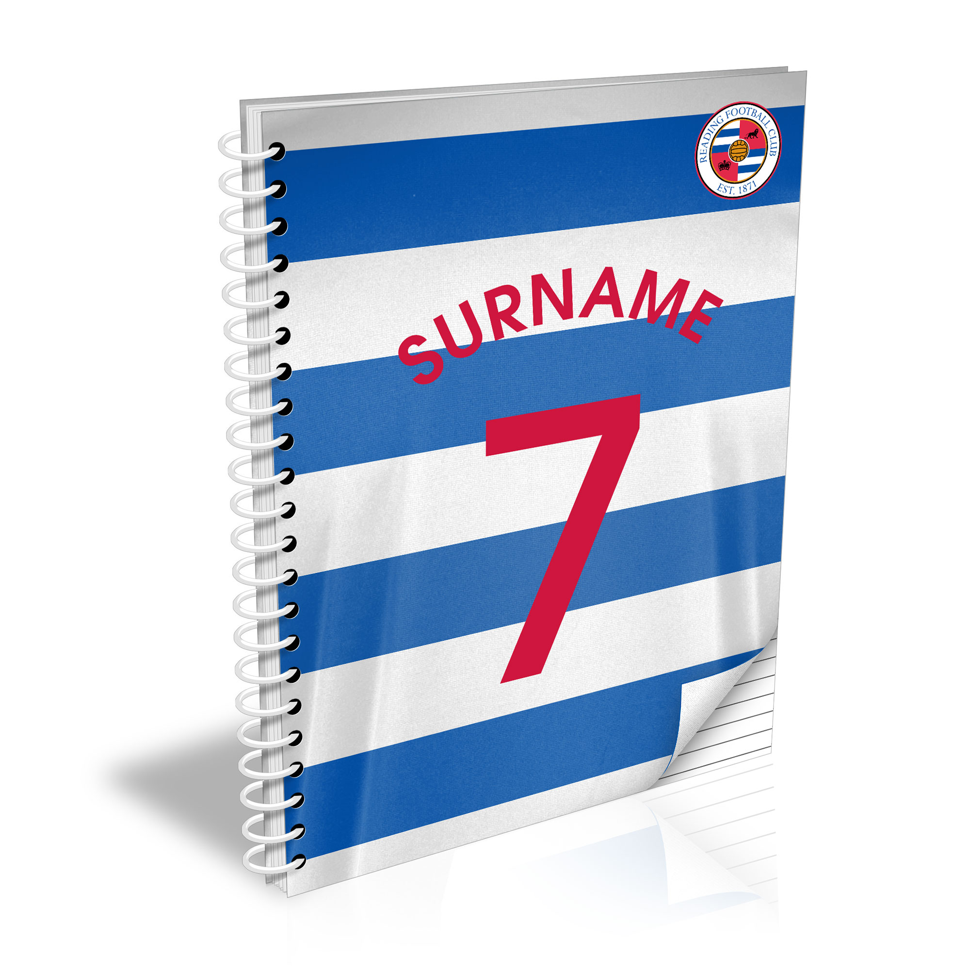 Reading FC Shirt Notebook