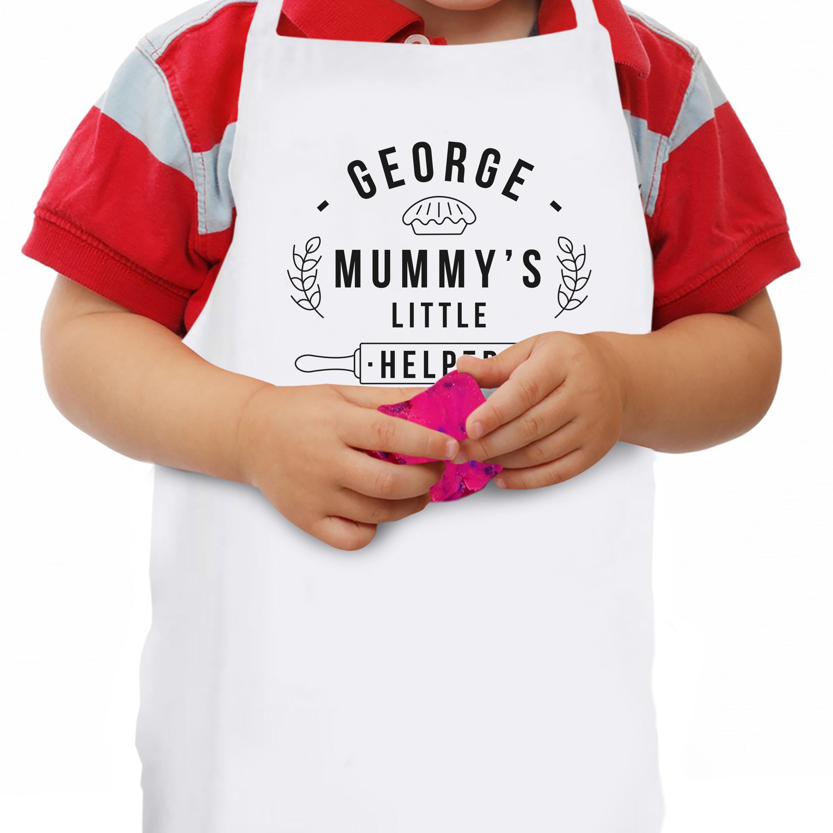 Mummy's Little Helper Pie Child's Apron