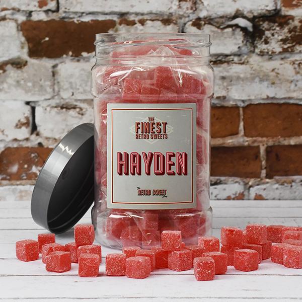 Kola Cubes Sweet Jar
