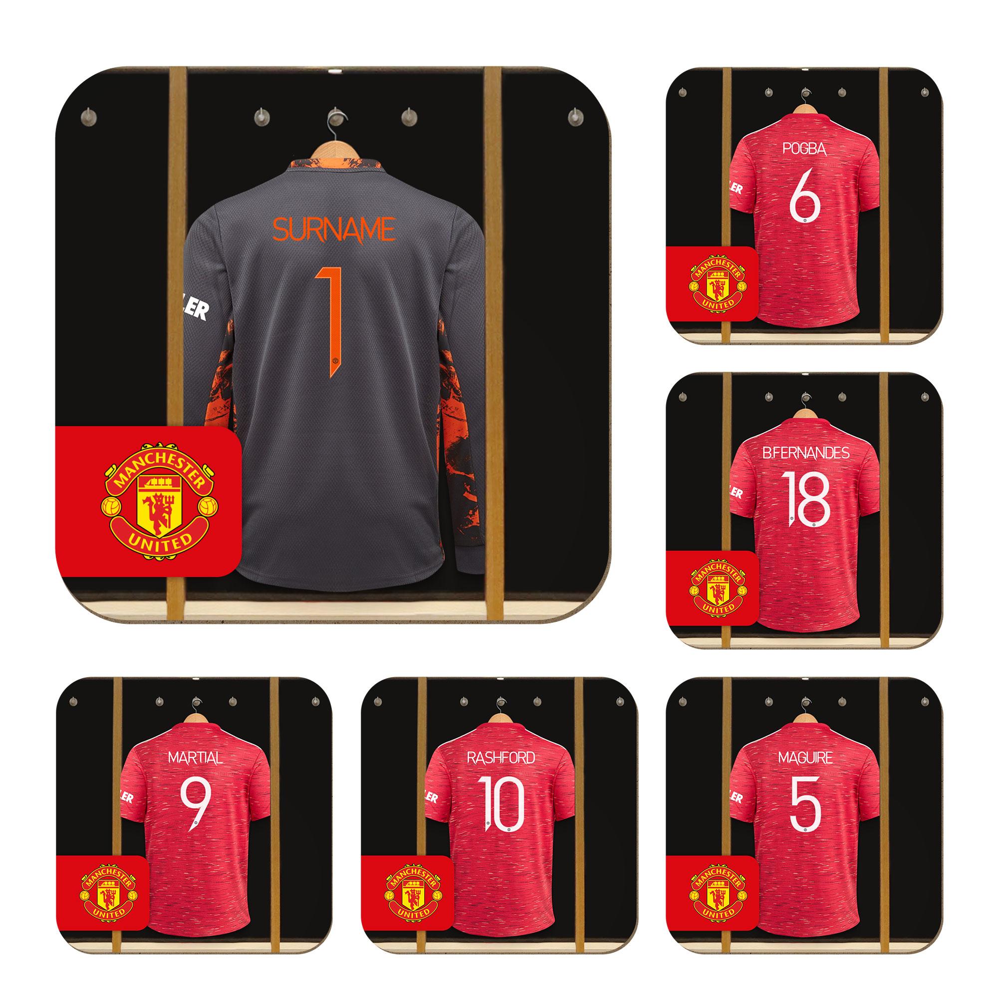 Manchester United FC Goalkeeper Dressing Room Coasters