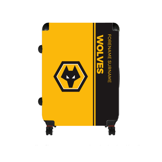 Wolverhampton Wanderers FC Crest Large Suitcase