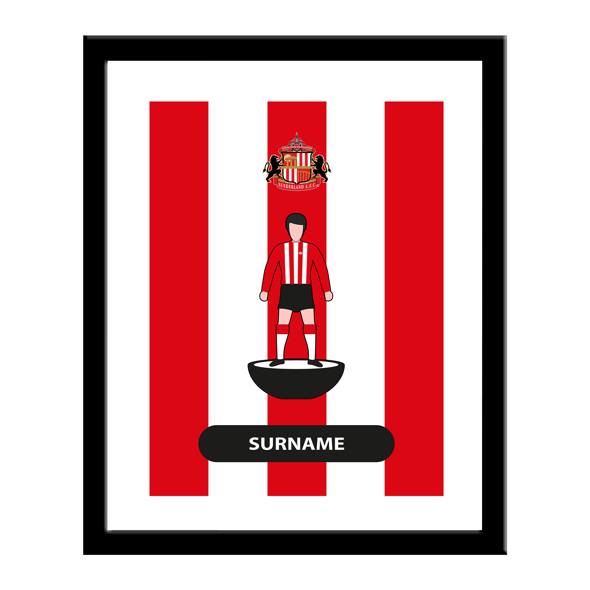 Sunderland AFC Player Figure Print