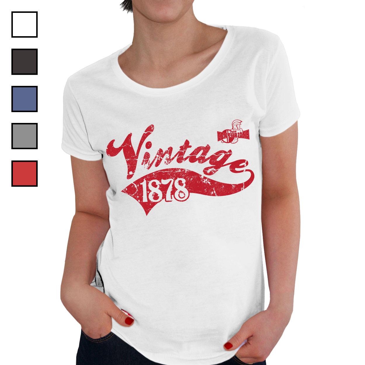 Leigh Centurions Ladies Vintage T-Shirt