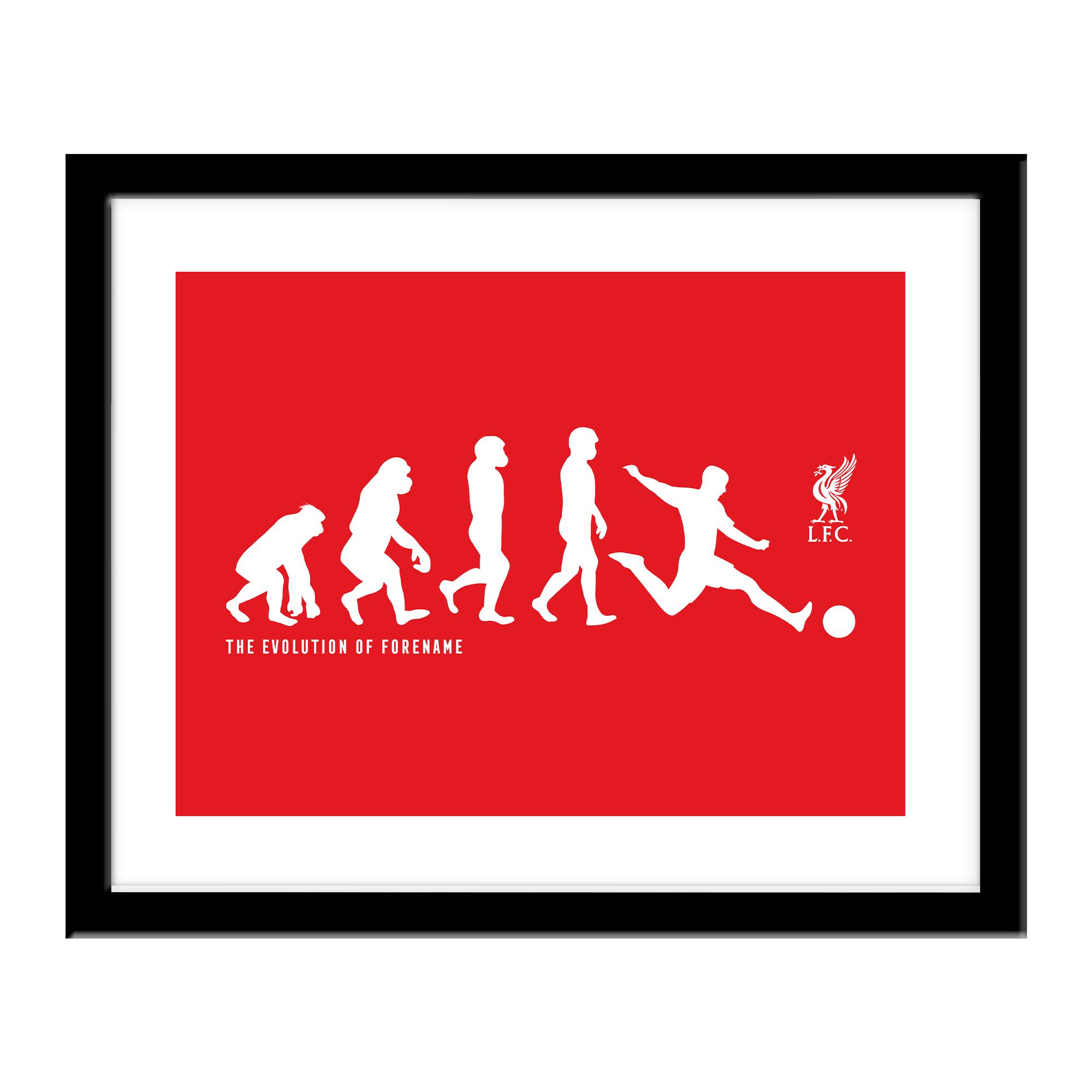 Liverpool FC Evolution Print