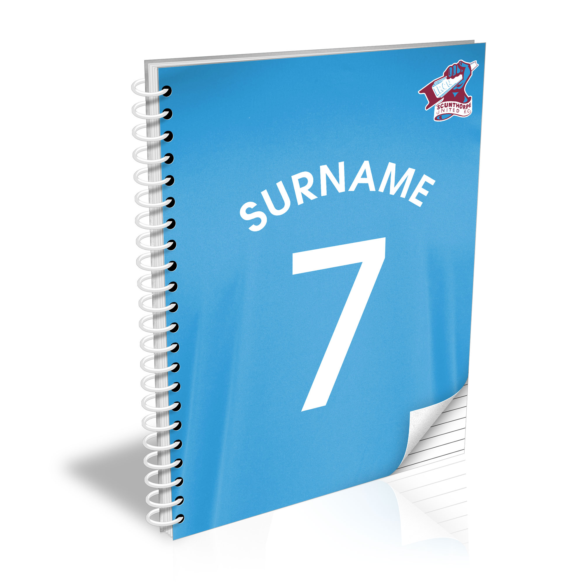 Scunthorpe United FC Shirt Notebook