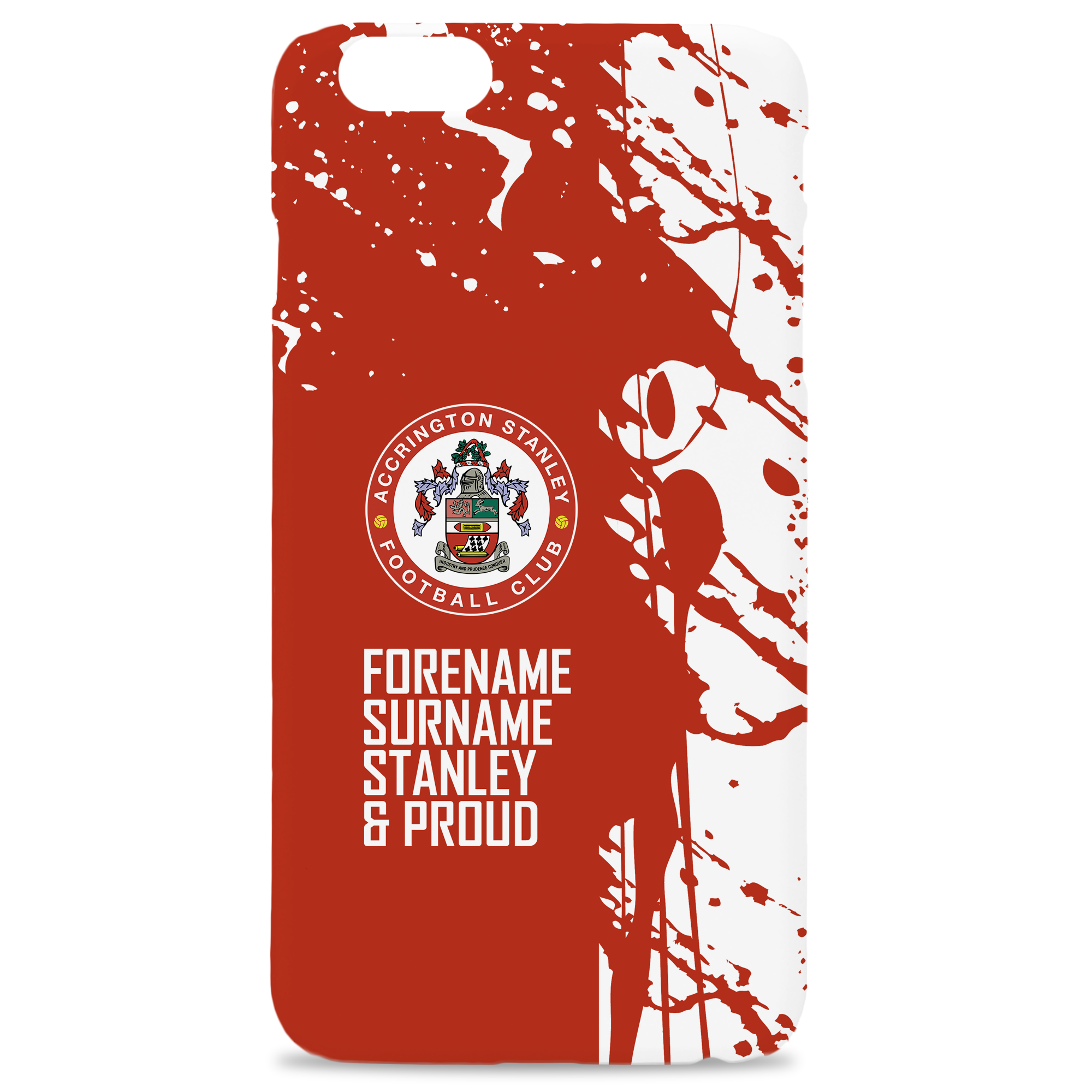 Accrington Stanley Proud Hard Back Phone Case
