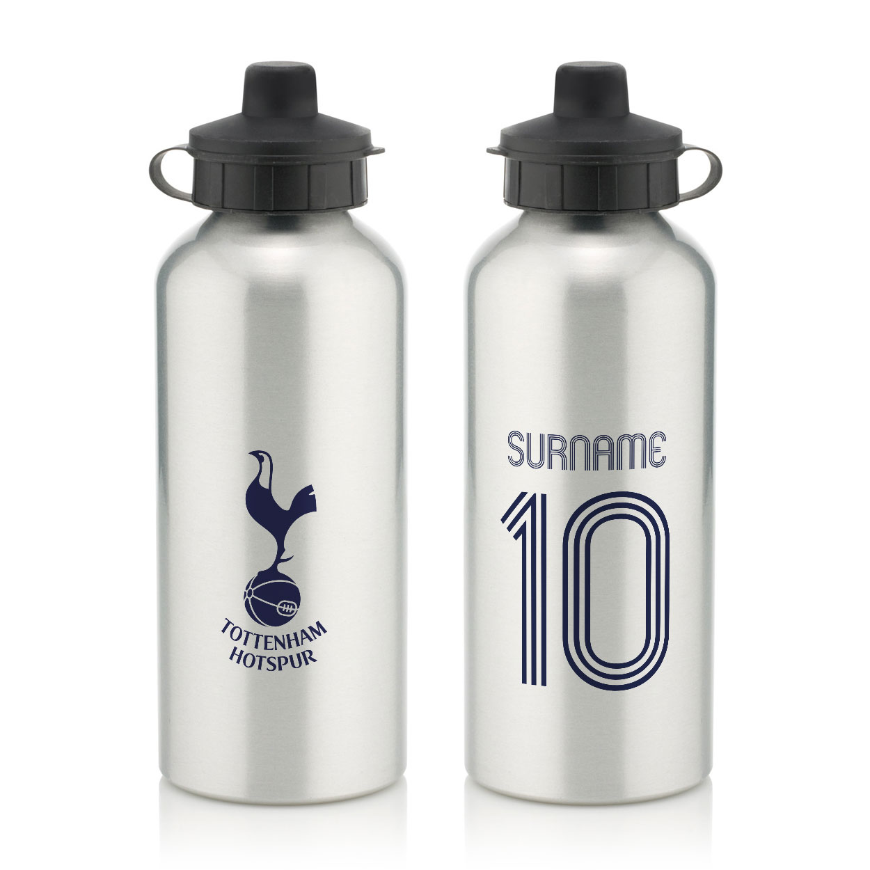Tottenham Hotspur FC Retro Shirt Water Bottle