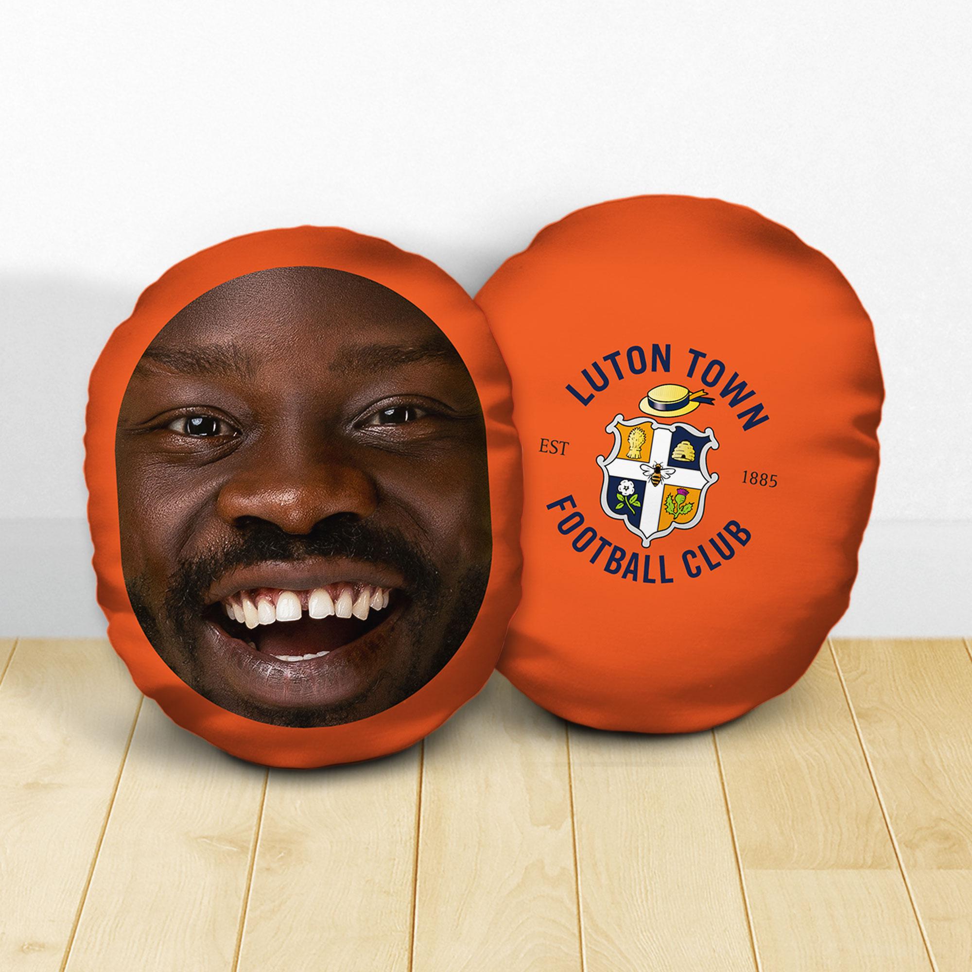 Personalised Luton Town FC Crest Mush Cush