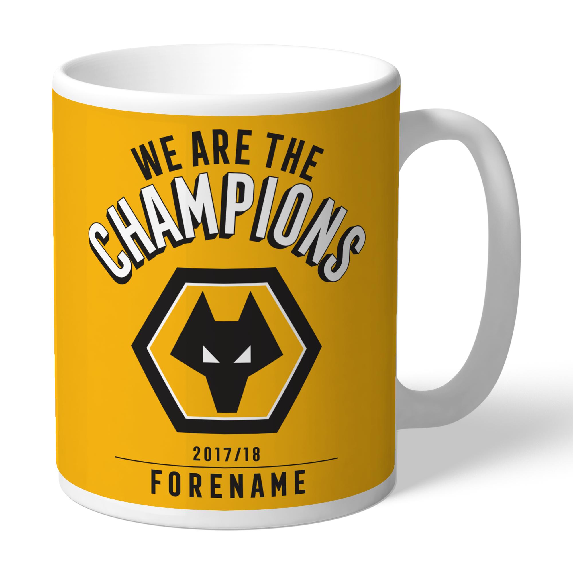Wolves Champions Mug