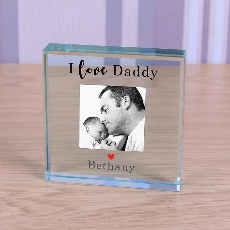 Glass Token - Love Daddy