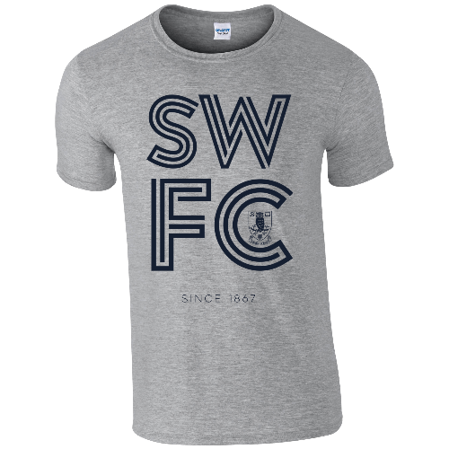 Sheffield Wednesday FC Stripe T-Shirt
