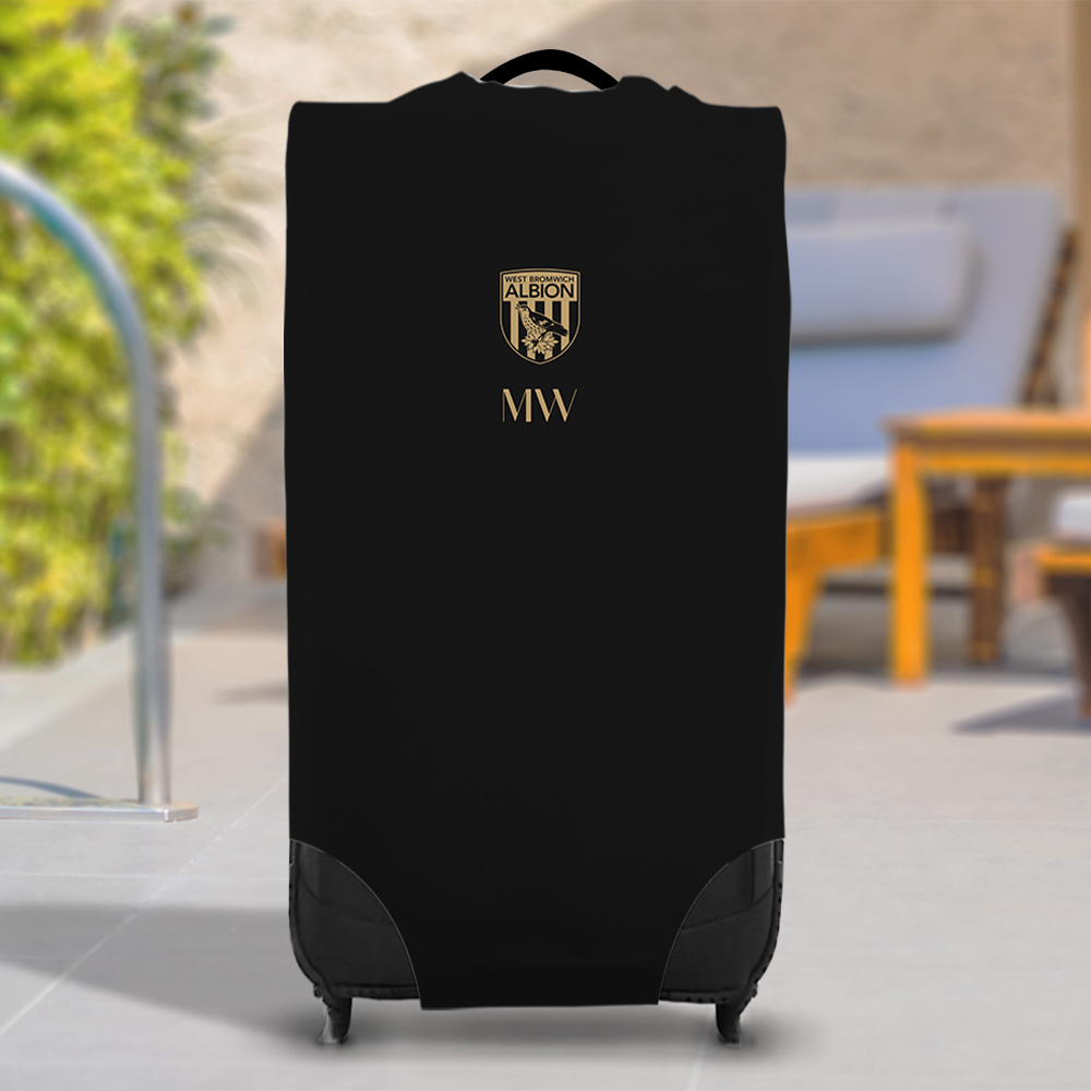 West Bromwich Albion FC Initials Caseskin Suitcase Cover (Large)