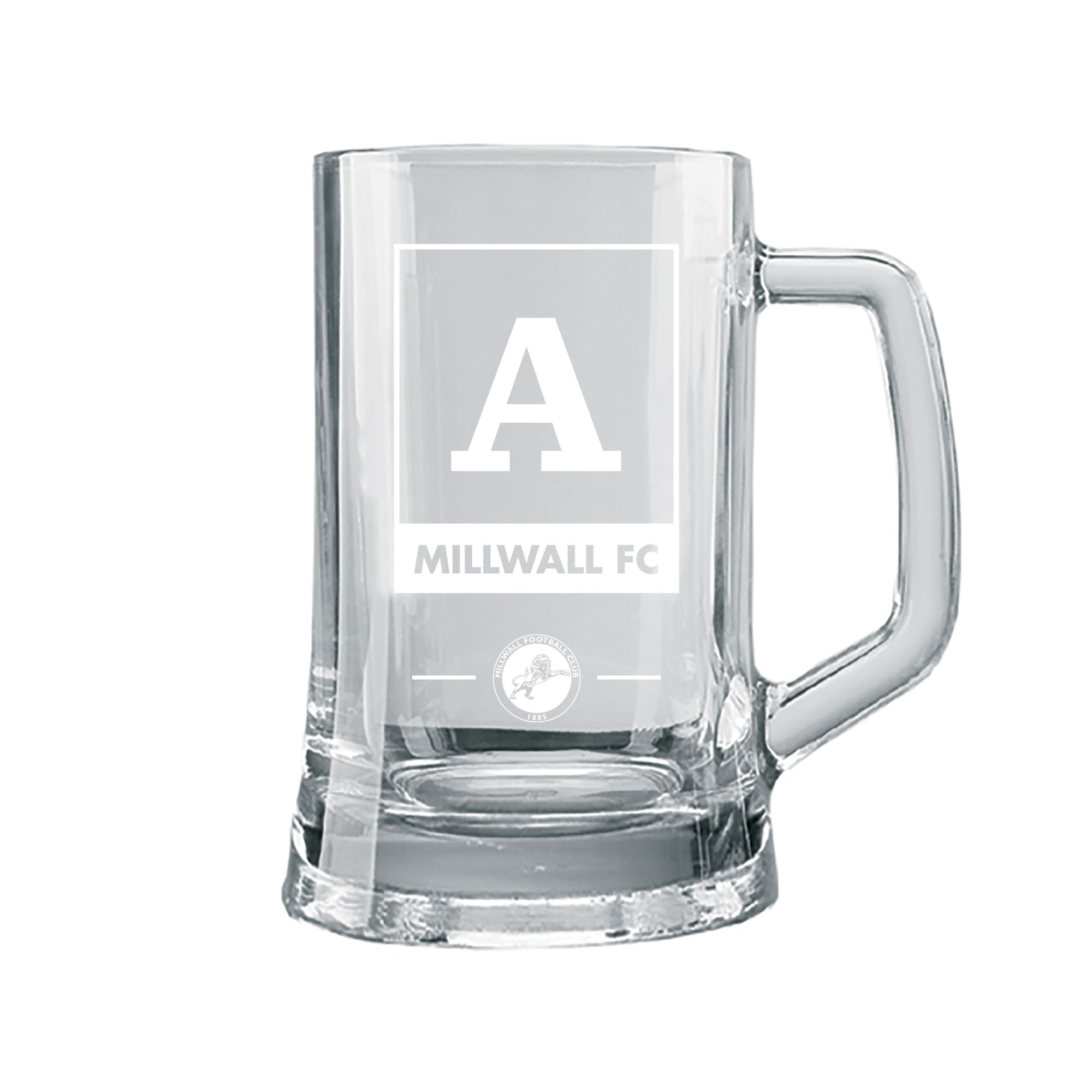 Millwall Monogram Large Straight Sided Tankard