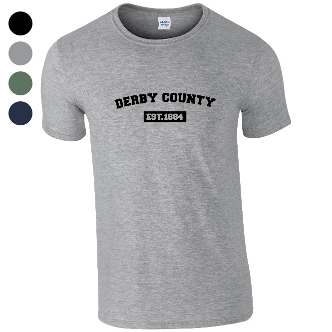 Derby County Varsity Established T-Shirt