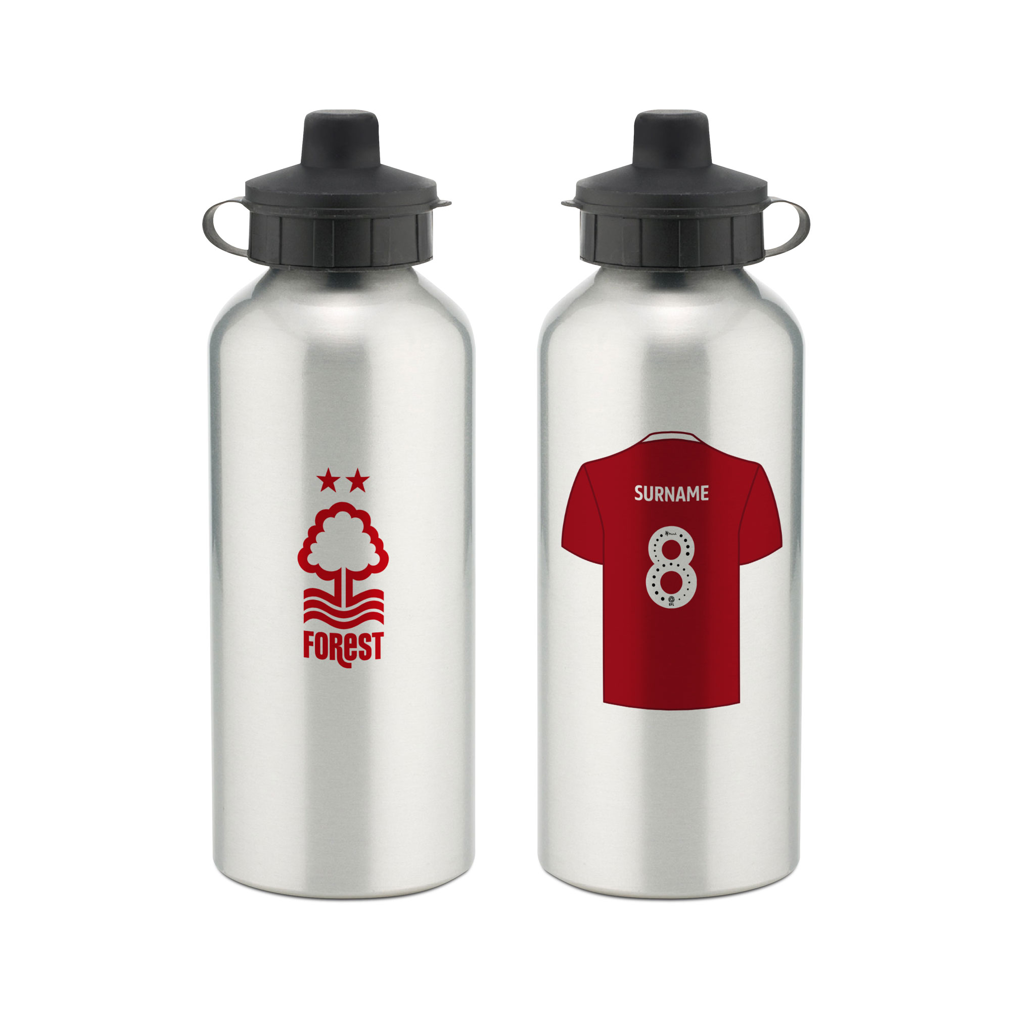Nottingham Forest FC Aluminium Water Bottle