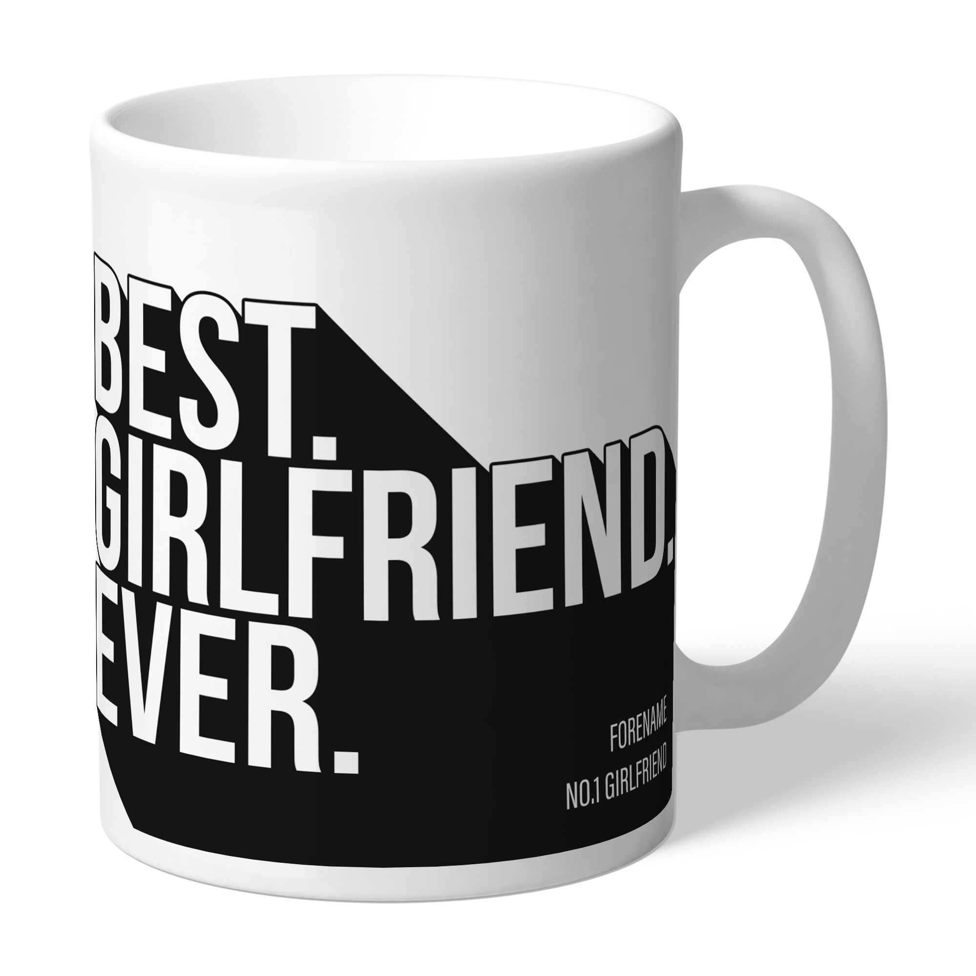 Newcastle United FC Best Girlfriend Ever Mug