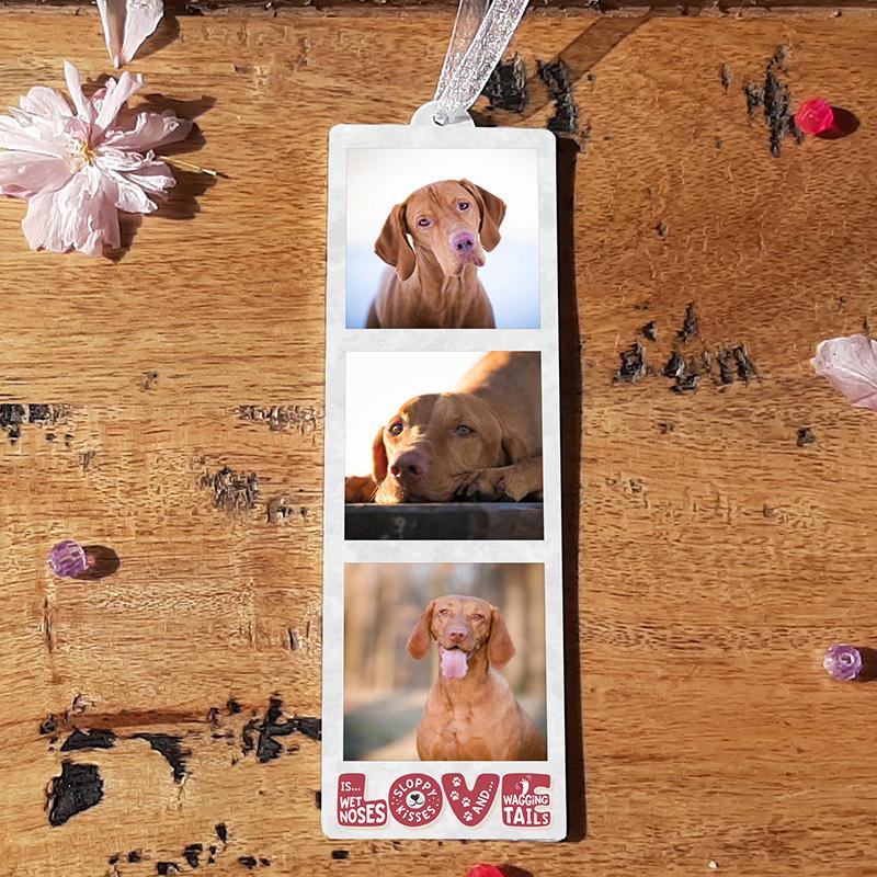 HANGING PHOTO TOKEN  - LOVE IS..