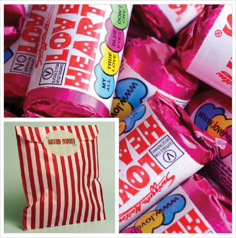Love Hearts Sweet Bag