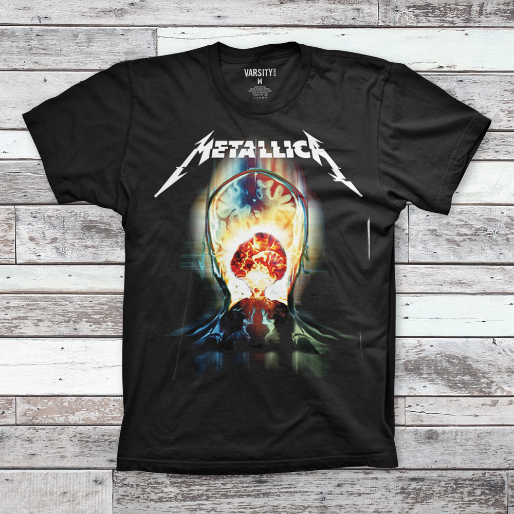 Mens T-Shirt Metallica Exploded