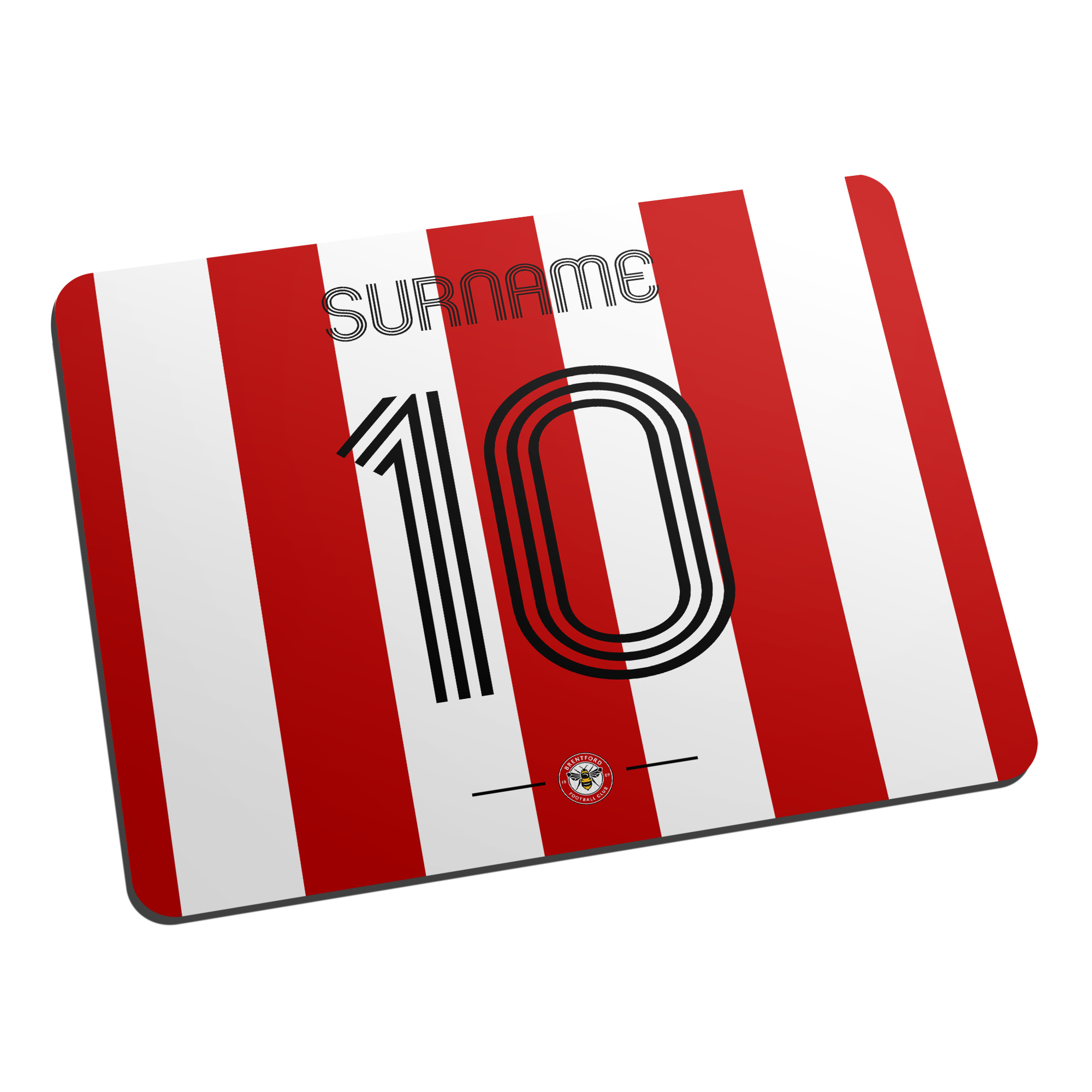 Brentford Retro Shirt Mouse Mat