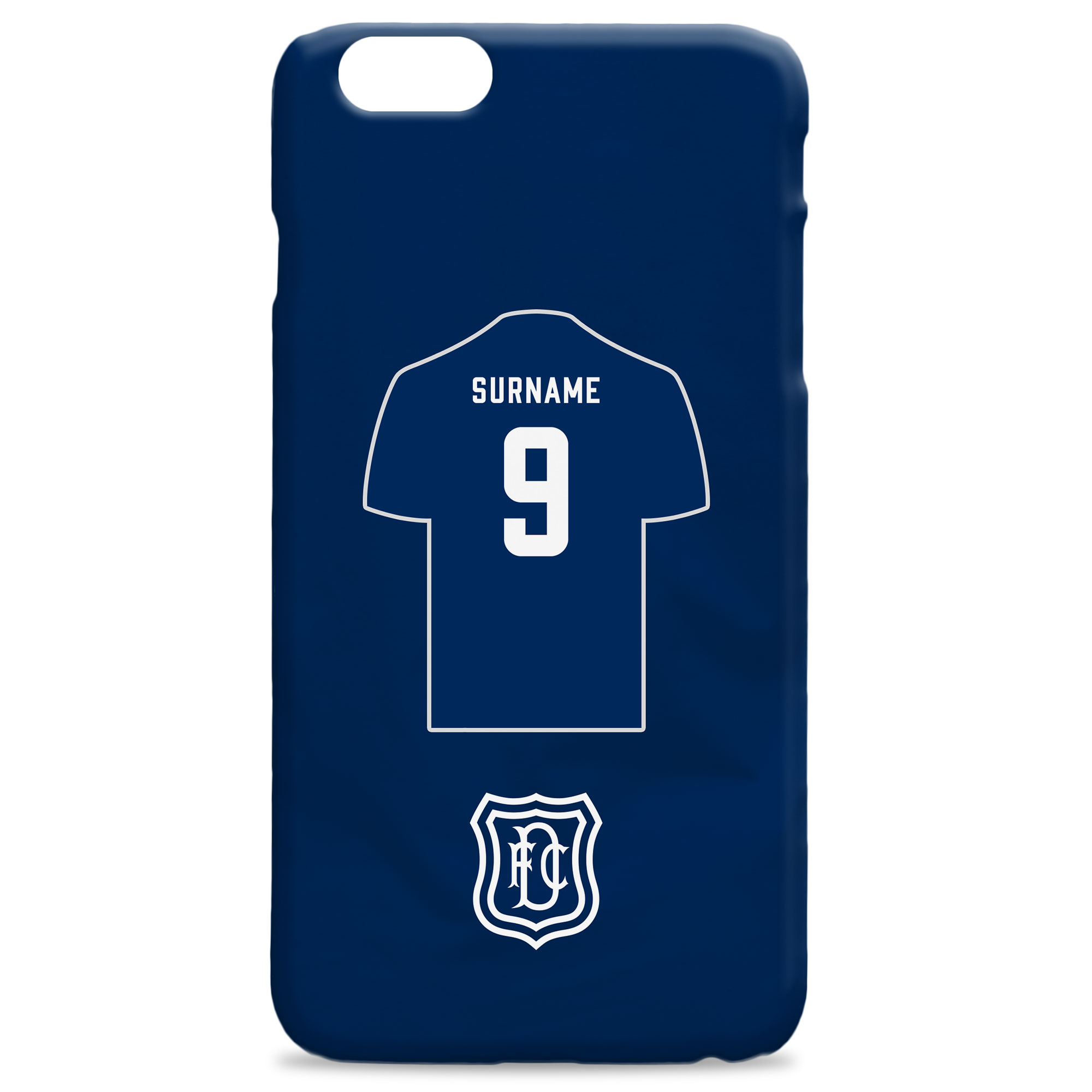 Dundee FC Shirt Hard Back Phone Case