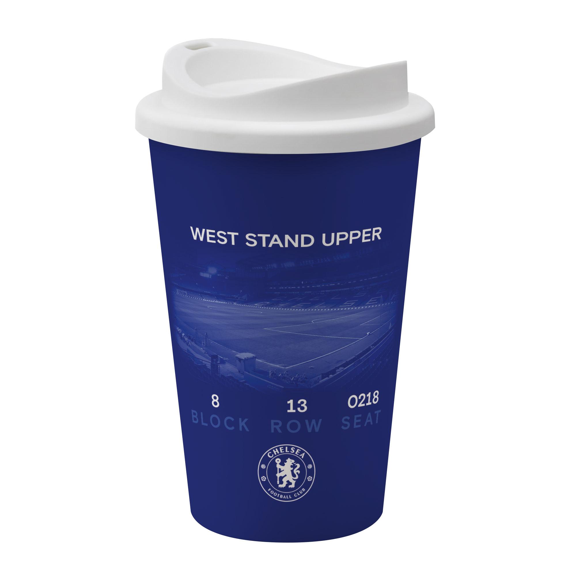 Chelsea FC My Seat in Stamford Bridge Reusable Cup