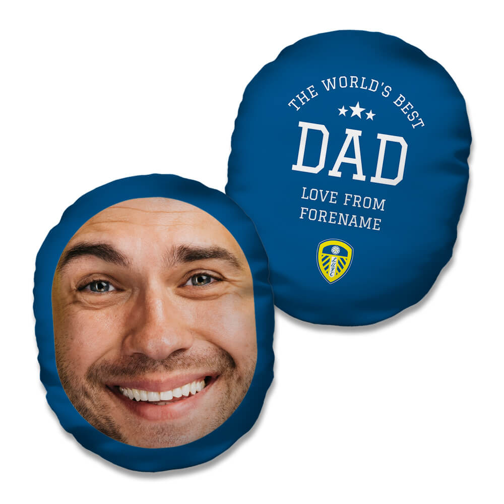 Leeds United FC World's Best Dad Mush Cush