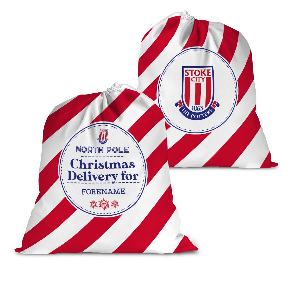 Stoke City FC Christmas Delivery Santa Sack