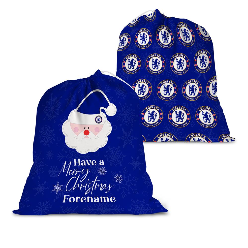Chelsea FC Merry Christmas Santa Sack