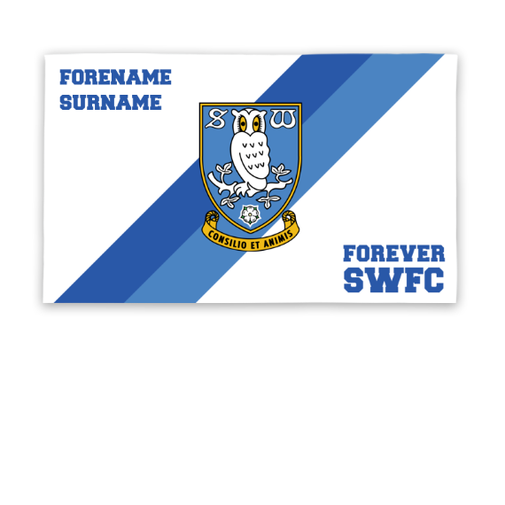Sheffield Wednesday FC Forever 5ft x 3ft Banner