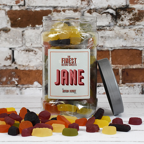 Wine Gums Sweet Jar