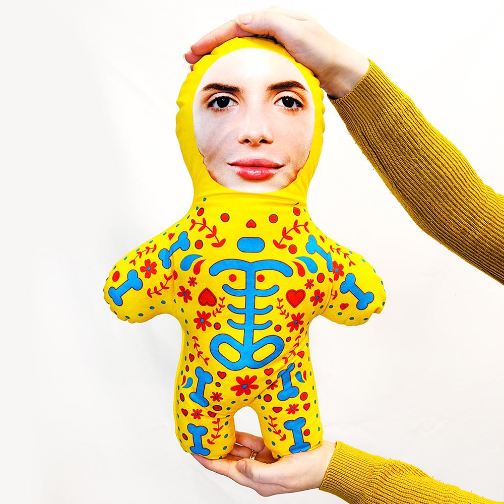Candy Skull - Yellow - MINI ME