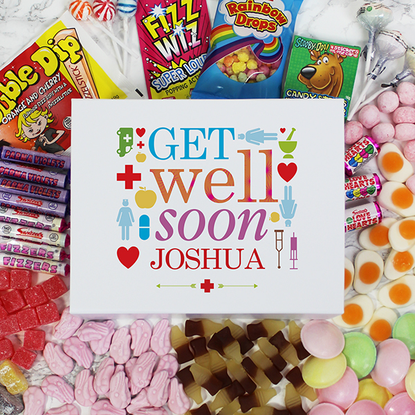 Get Well Soon Deluxe Sweet Box