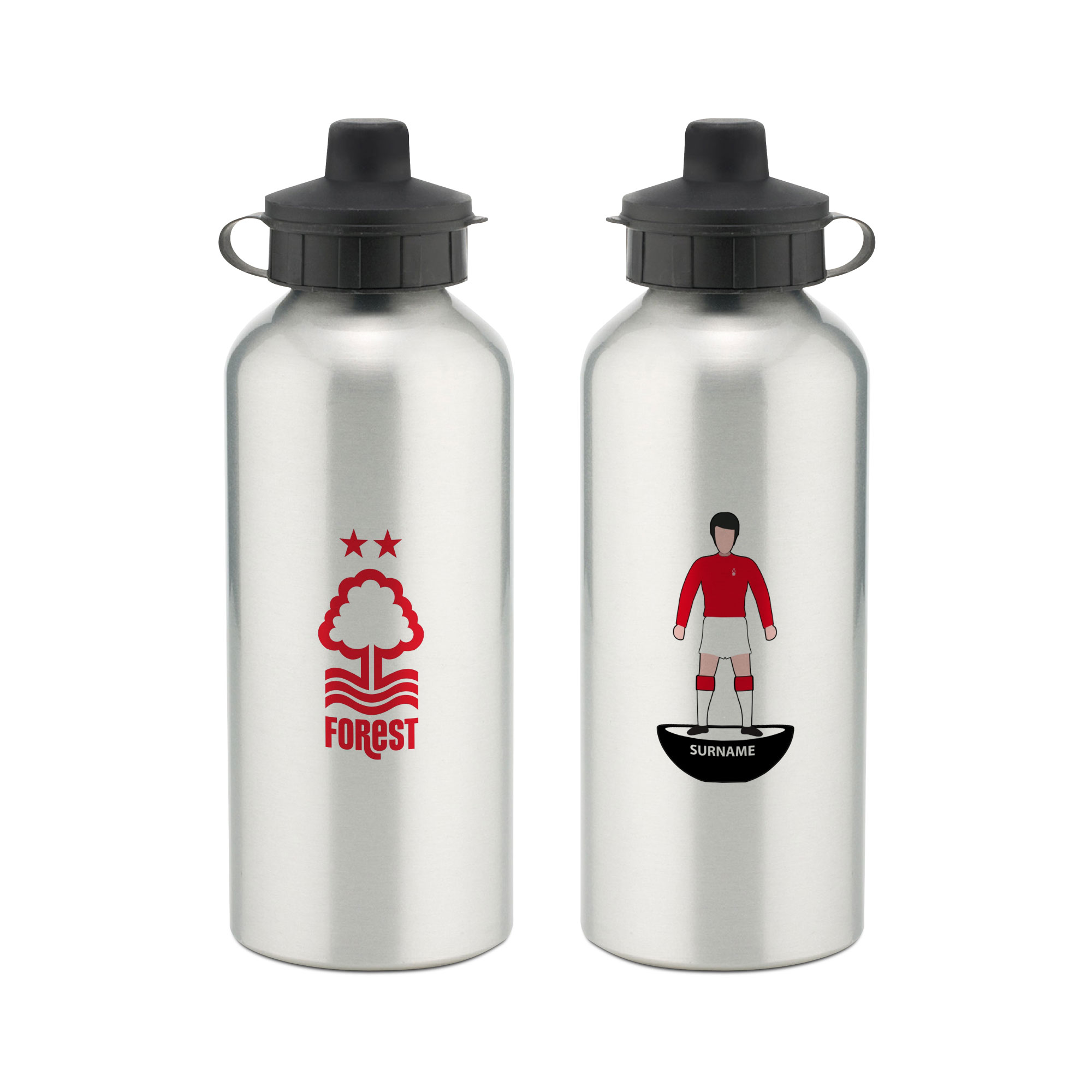 Nottingham Forest FC Player Figure Water Bottle