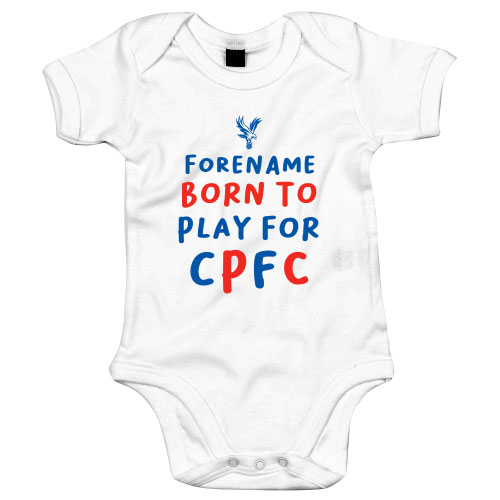 Crystal Palace Born to Play Baby Bodysuit