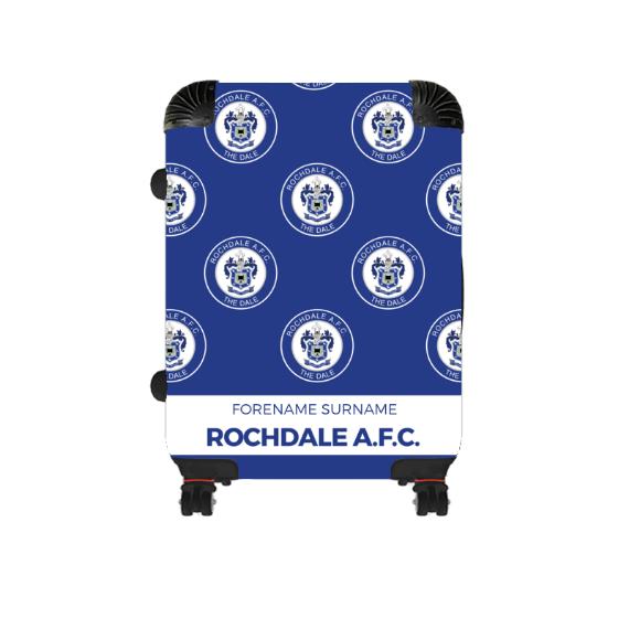 Rochdale AFC Mini Crest Cabin Suitcase