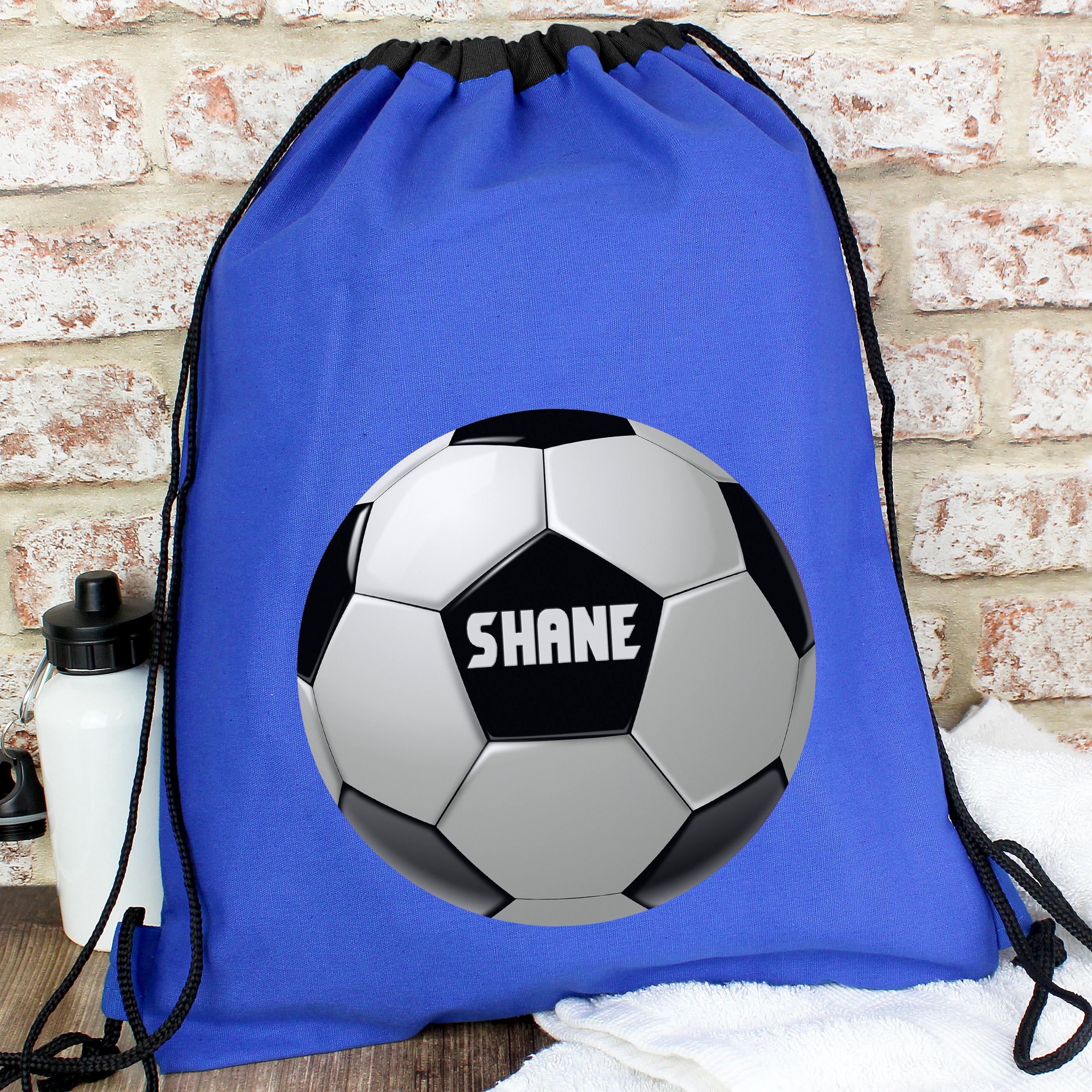 Personalised Football Kit Bag