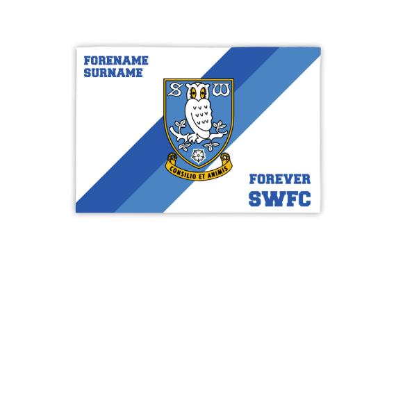 Sheffield Wednesday FC Forever 3ft x 2ft Banner