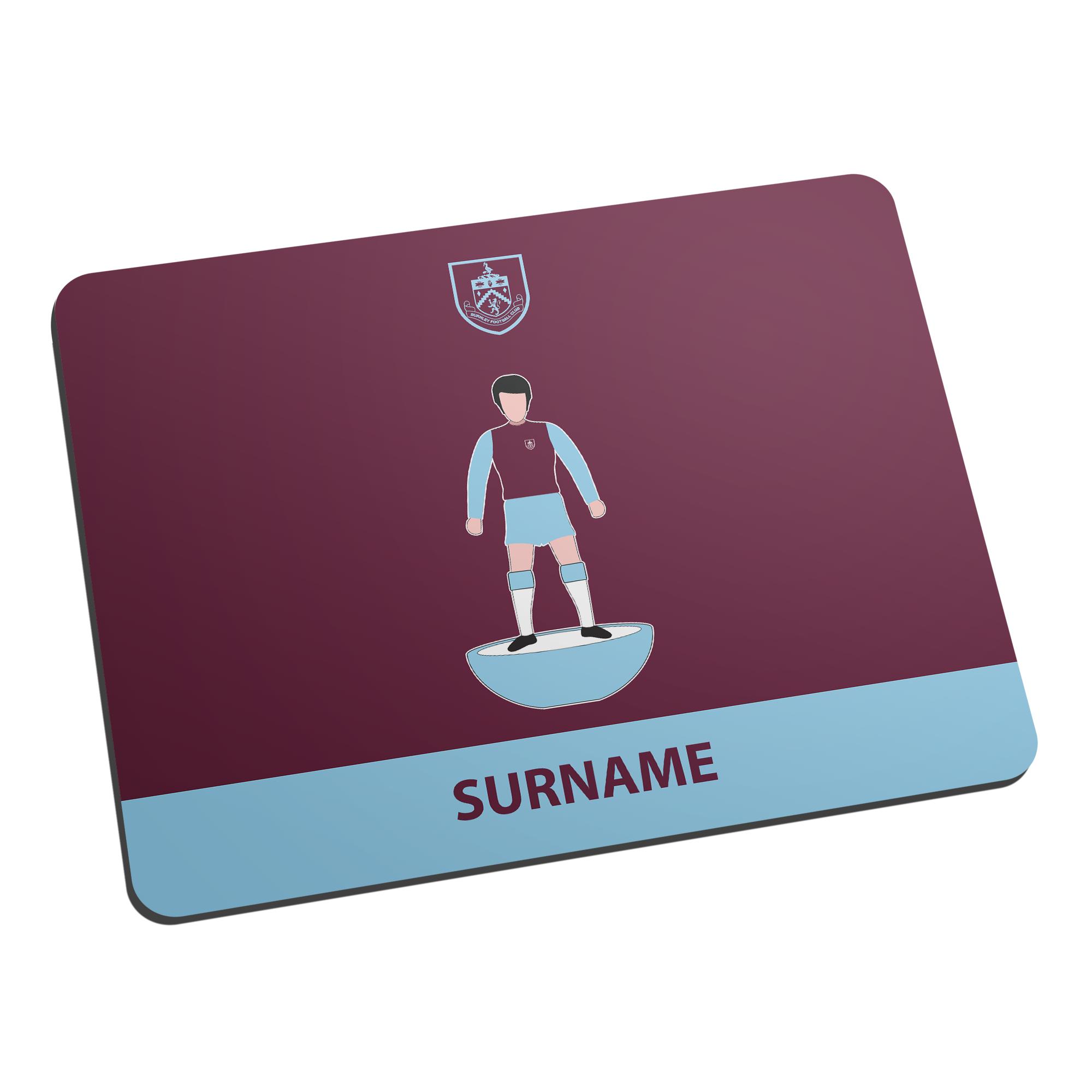 Burnley FC Player Figure Mouse Mat