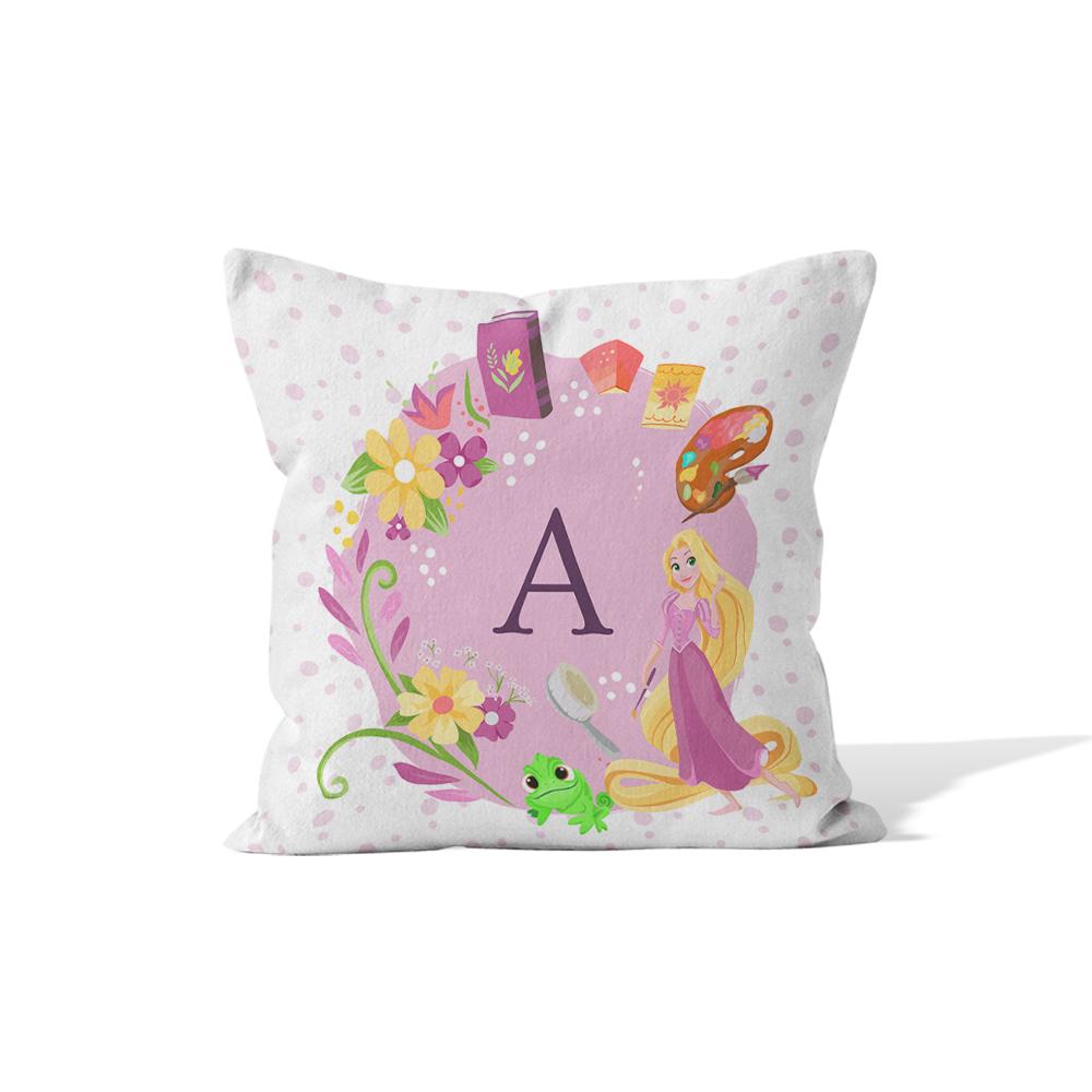 Disney Princess Rapunzel Initial Cushion